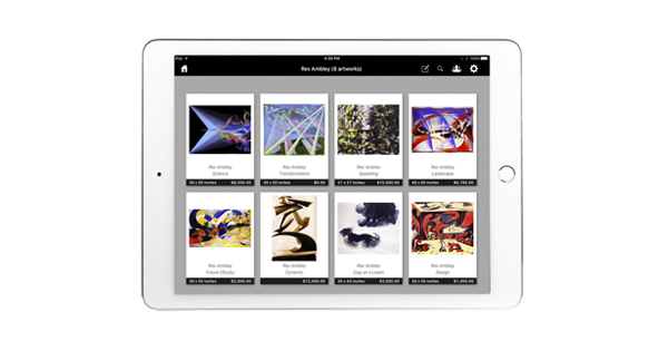GALLERY ASSISTANT ® IPAD APP